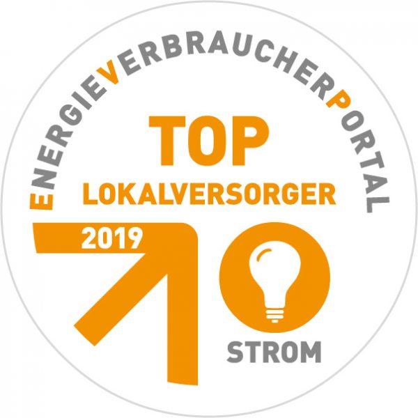 Auszeichnung als Top Lokalversorger