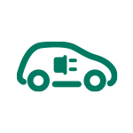 TWO Umweltprogramm Icon Auto Strom