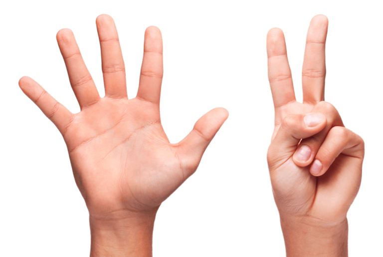 7 Finger